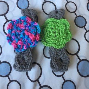 Other - Baby flower headbands!!!!
